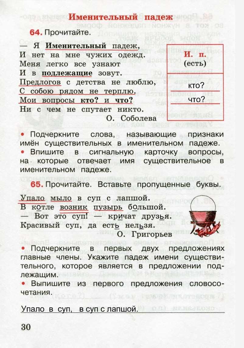 Гдз по 3 класс по русскому канакина 2 часть учебник рабочая тетрадь