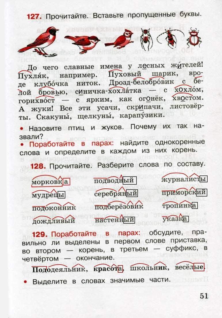 Готовые домашнее задание 3 класс русский язык канакина